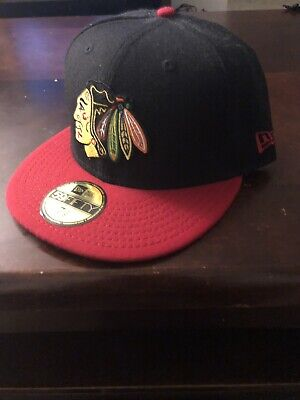 buy popular 9f6a5 f13b9 Chicago Blackhawks New Era NHL Basic 2-Tone 59Fifty,,Cap,Hat