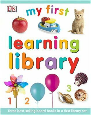 My First Learning Library (My First Board Book) by DK Book The Cheap Fast Free