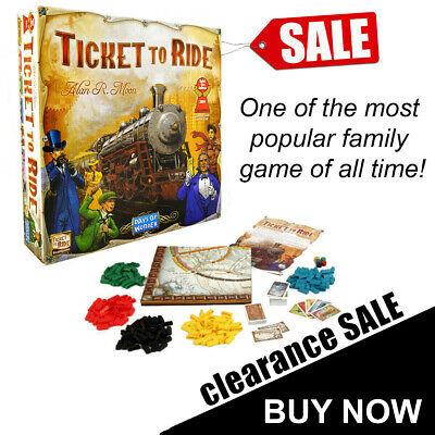TICKET TO RIDE Origin US Edition Family Board Game