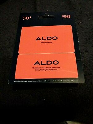 Aldo Shoes gift card $50.00 (Fifty dollars) value