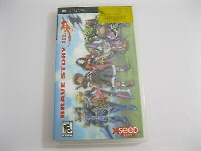 PSP GAME - Brave Story New Traveler - PlayStation Portable - Free Shipping