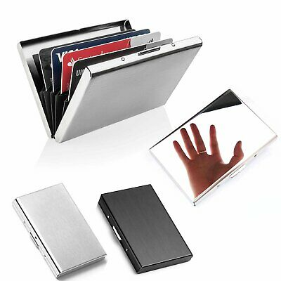 Metal Slim Wallet Money Card Holder Wallet Pocket Credit Money Cash Travel