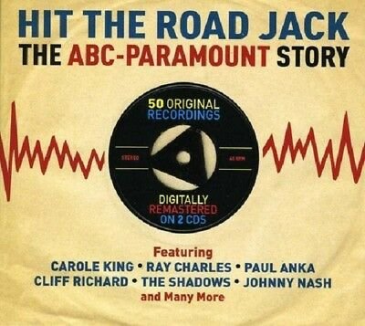 Hit The Road Jack-ABC-Paramount Story 2-CD NEW SEALED Ray Charles/Paul Anka+
