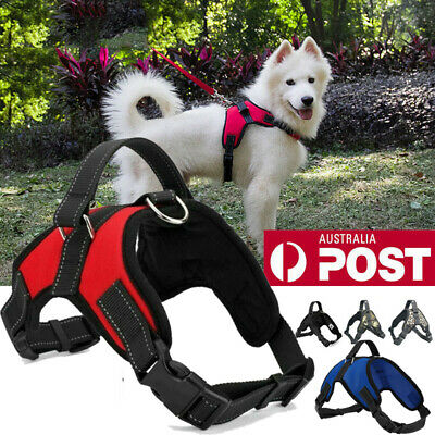 No-pull Dog Harness Pet Puppy Large Dog Vest Padded Handle Adjustable S/M/L/XL