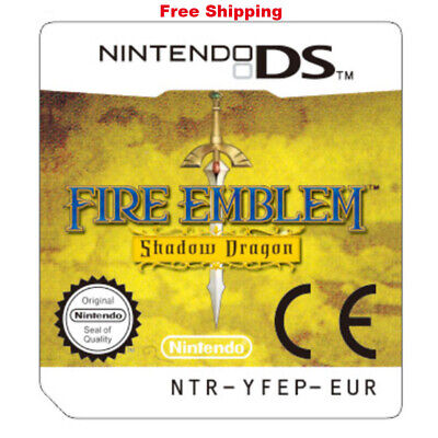 Fire Emblem Shadow Dragon Game Card For Nintendo 3DS NDSI NDSLL NDS Lite