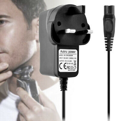 15v Battery Power Supply Plug Charger For Philips Wet & Dry Shavers Universal UK