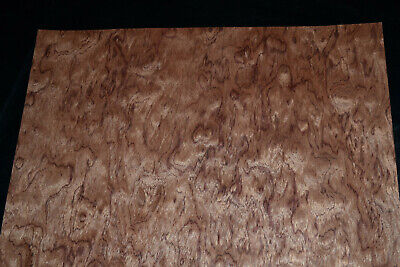 Bubinga Raw Wood Veneer Sheets 16 x 45 inches AKA African Rosewood      8711-15