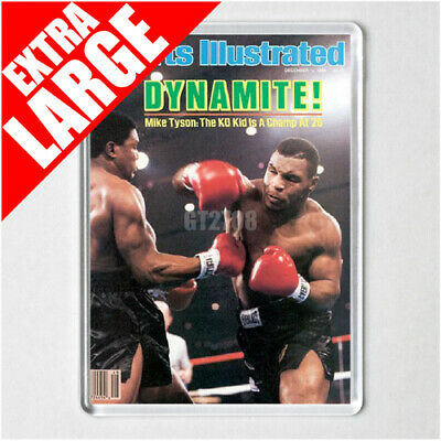 MIKE TYSON POSTER MAGNETS sports illustrated
