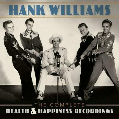 HANK WILLIAMS THE COMPLETE HEALTH & HAPPINESS RECORDINGS 2 CD (Released 14/6/19)
