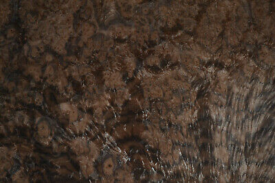 Walnut Burl Raw Wood Veneer Sheets 13.5 x 18 inches 1/42nd thick        8631-3