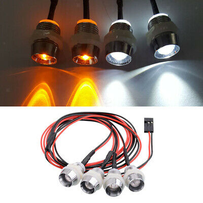 5mm RC LED Lamp Blue Light for 1//5 1//8 1//10 1//12 1//16 Car Parts Accessory
