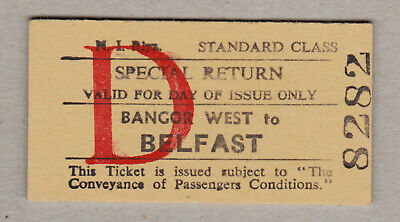 Northern Ireland Railway Ticket / Fahrkarte (421)