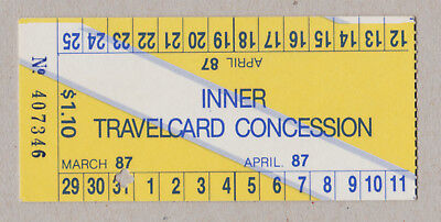 Melbourne Australia The Met Travelcard Paper Ticket / Fahrkarte (359)