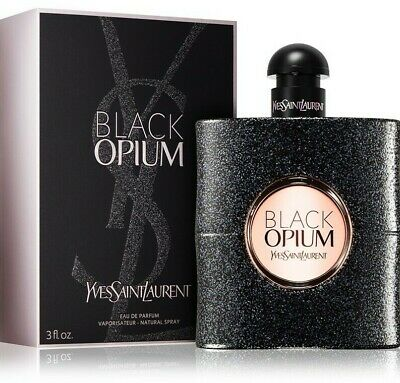 YSL Yves Saint Laurent Black Opium women's Perfume Eau de Parfum EDP Authentic