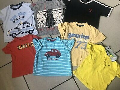 4cb1402f5 Bundle Of Boys Summer T Shirts Tops Age 3 - 4 NEXT Mothercare Marks &  Spencer
