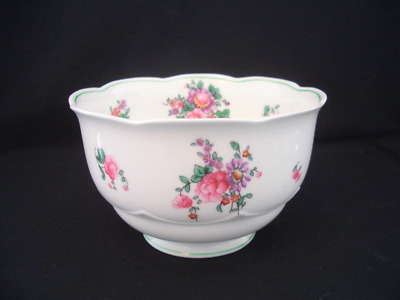 George Jones Crescent China - Large Floral Sugar or Slops Bowl    *more items