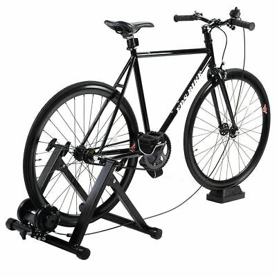 5 Level Resistance Magnetic Indoor Bicycle Bike Trainer Exercise Stand Black New