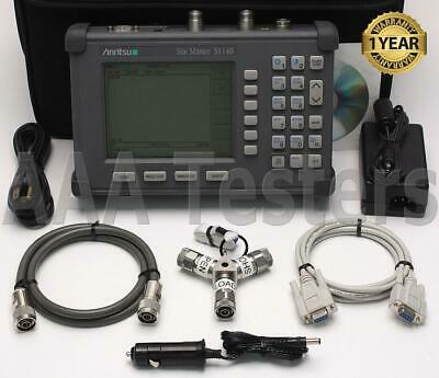 Anritsu Site Master S114B Cable Antenna / Spectrum Analyzer w/ Opt 5 S114