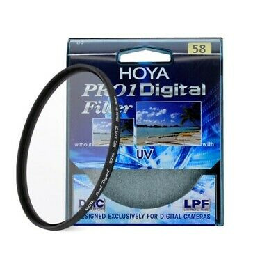 HOYA  58mm Pro 1 Digital UV Camera Lens Filter Pro1 D Pro1D UV(O) DMC LPF filter