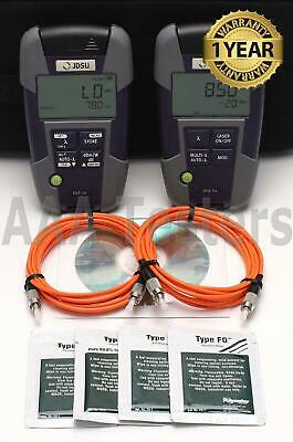 JDSU Acterna OMK-34 SmartPocket MM Fiber Loss Test Set OLP-34 OLS-34 OLP OLS 34