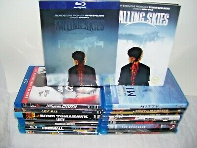lot of 15+ blu-ray dvds