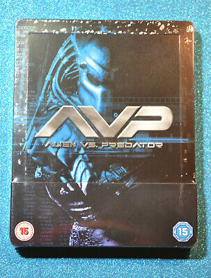 New & Sealed Alien vs Predator Steelbook Bluray UK Edition AVP
