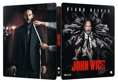 EU Import John Wick Chapter 2 Steelbook New & Sealed