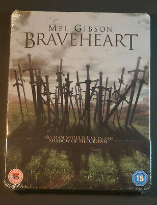 Brand New & Sealed Braveheart Steelbook Bluray UK Edition REGION FREE