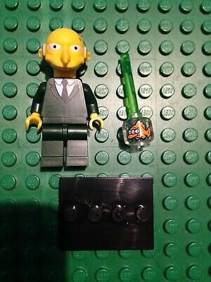 LEGO-MINIFIGURES SERIES THE SIMPSONS X 1 GREEN ROD FOR MR BURNS SIMPSONS PARTS