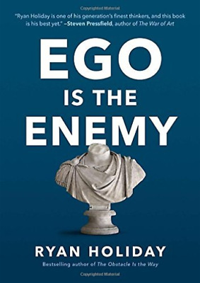 Holiday Ryan-Ego Is The Enemy HBOOK NEW