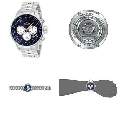 Invicta Men'S S1 Rally Quartz Watch With Stainless-Steel Strap, Silver, 22 (Mode