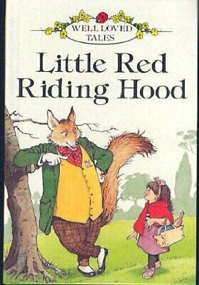 Little Red Riding Hood (Ladybird Well-loved Tales) Paperback Book The Cheap Fast