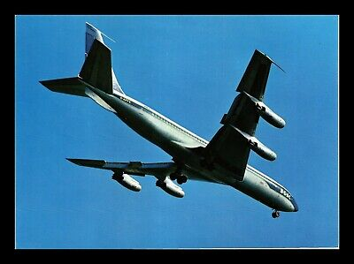 Dr Jim Stamps Us Boac Boeing 707 Airplane Transportation Continental Postcard