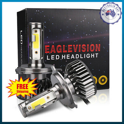 H4/9003 1150W 172500LM LED Headlight Kit Conversion Globes Bulb Hi/Lo Beam 6000K