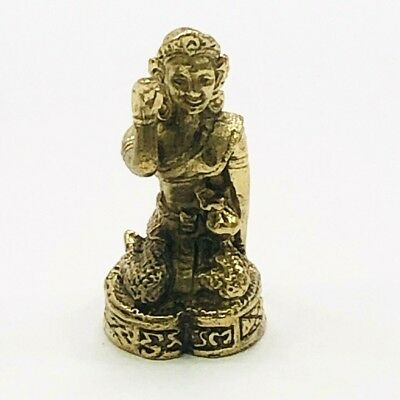 Collectible Antique China Tibet Bronze Buddha Statue Small Figure 19th C Qing