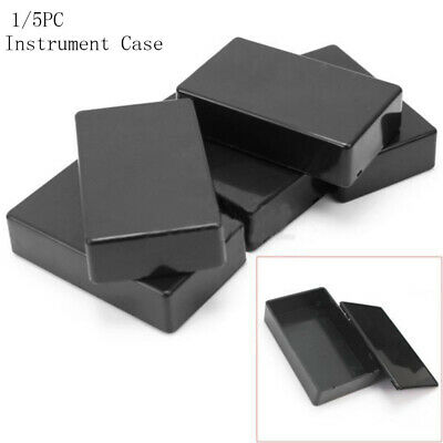 Electronic 100x60x25mm Project Box Plastic Enclosure Instrument Case ABS