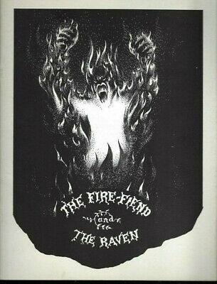 Illustrated Fire Fiend of Charles Gardette & Edgar Allen Poe, The Raven (Hoax?)