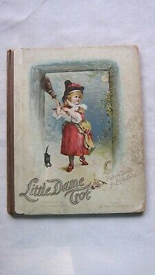 Old Book Little Dame Trot Stories for Little Folks Late 1800's FC -  GC