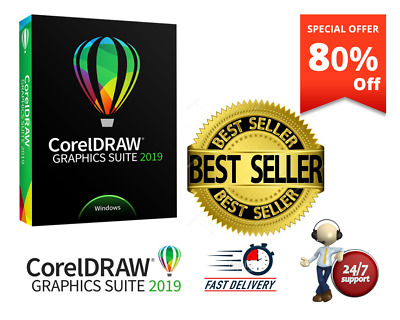 CorelDRAW GRAPHICS SUITE 2019 ✔️LIFETIME ACTIVATED ✔️FAST DELIVERY⚡