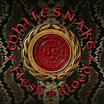 Flesh and Blood Regular Ed.  Audio CD Whitesnake  Hard Rock  blues rock NEW