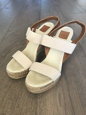 029b357a8c5 TORY BURCH ADONIS Espadrille Wedges / Includes dustbag - Size 8.5 ...