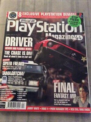 Issue 44 Official Uk Playstation Magazine April 1999