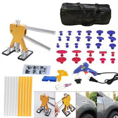 14Pcs Car Body Paintless Dent Repair Kit Puller Sucker Hail Damage Remover Tools
