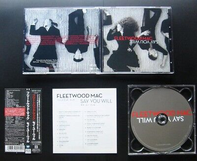 FLEETWOOD MAC Say You Will 2003 JAPAN 1ST PRESS CD w/OBI WPCR-11515 Stevie Nicks