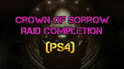Destiny 2 | (PS4) Crown Of Sorrow Raid Completion GUARANTEED WITHIN HOURS