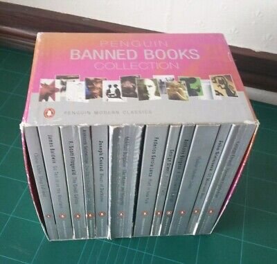 Penguin Banned Books Collection (12) Used Condition See Photos Free Uk Shipping