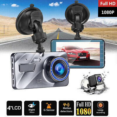 Full HD 1080P Dashcam Auto kamera Video Recorder Nachtsicht G-Sensor Loop-Aufn