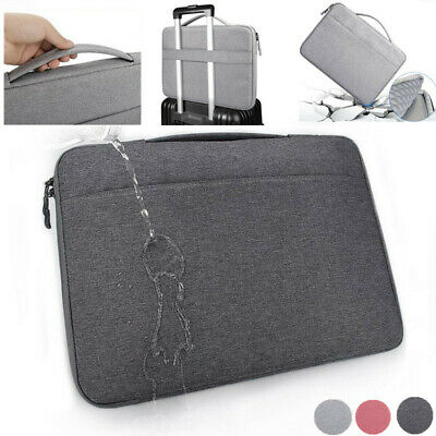 """13.3 """"15.6"""" inch Luxury Waterproof Oxford Laptop Canvas Cloth Sleeve Bag Cover"""