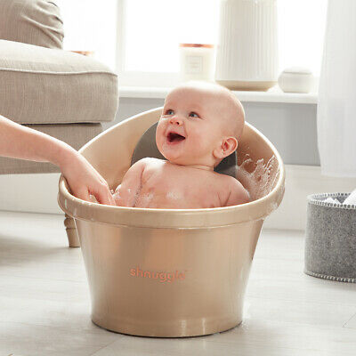 Shnuggle Baby Bath with Bum Support - Gold