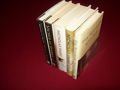 2 Nicholas Sparks Hardcover Novels ~ The Notebook & Every Breath